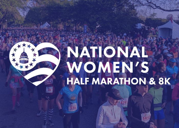 Welcome To The New National Women's Half Marathon & 8K Website!