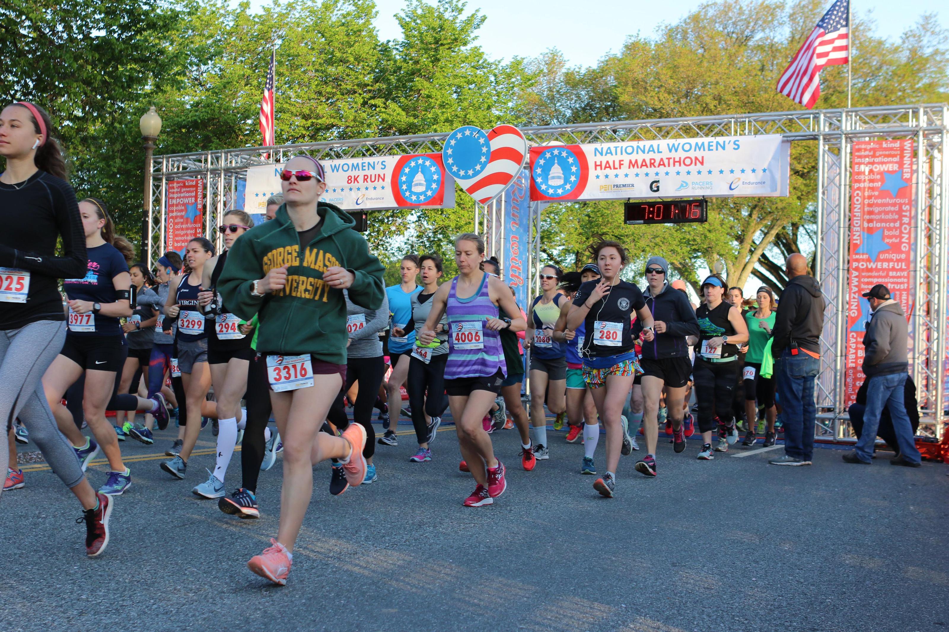 2018 National Women's Half Marathon